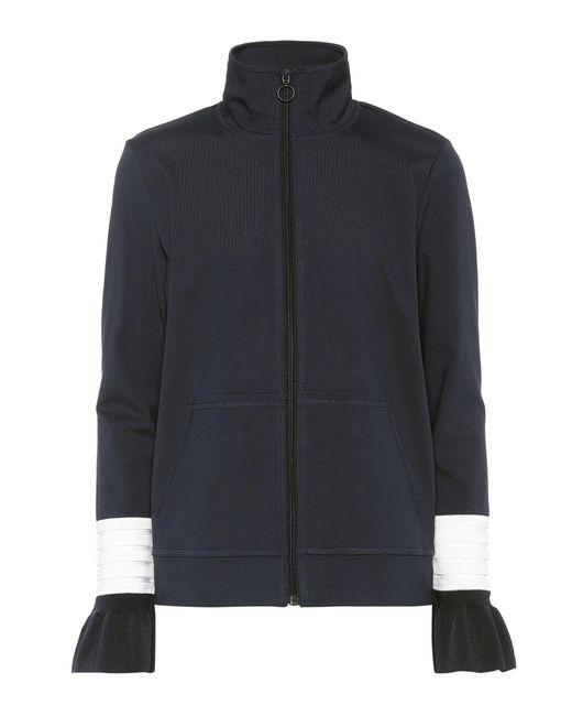 Ganni - Blue Presbourg Jersey Jacket - Lyst
