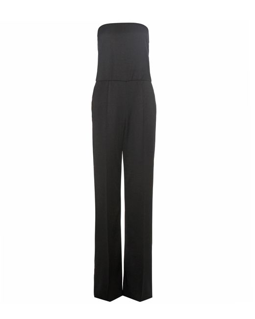 Stella McCartney - Black Malorie Wool Jumpsuit - Lyst