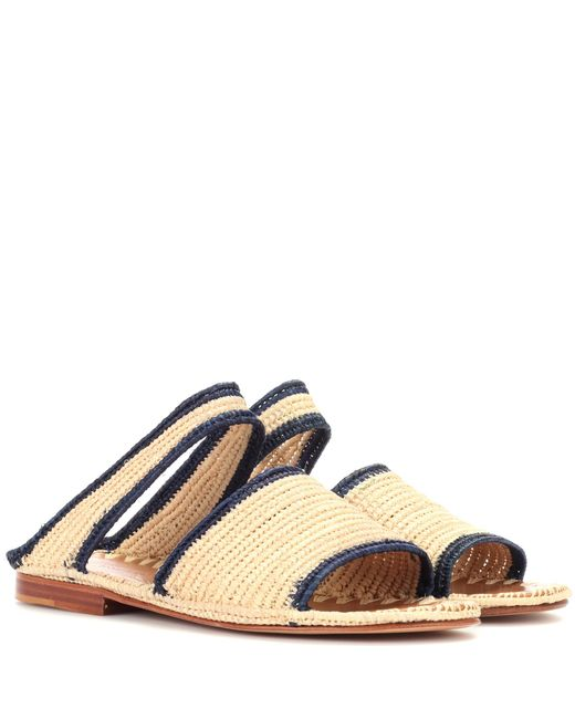 Carrie Forbes | Natural Raffia Sandals | Lyst
