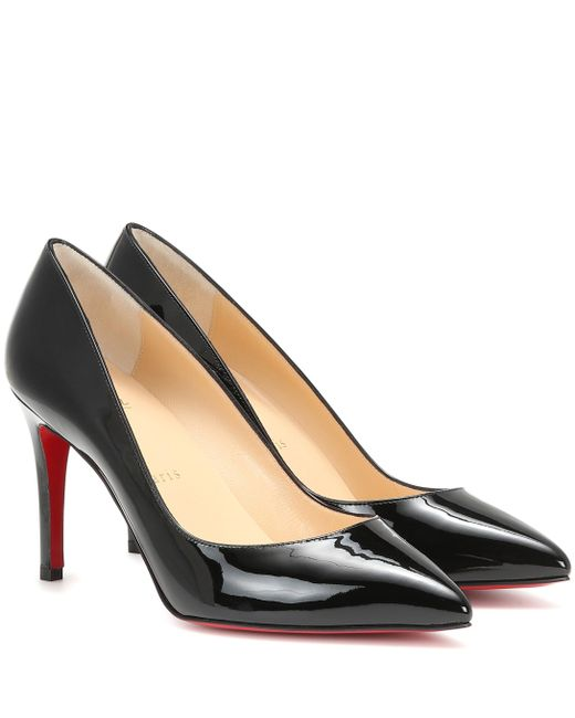 Christian Louboutin - Black Pigalle Follies 85 Leather Pumps - Lyst