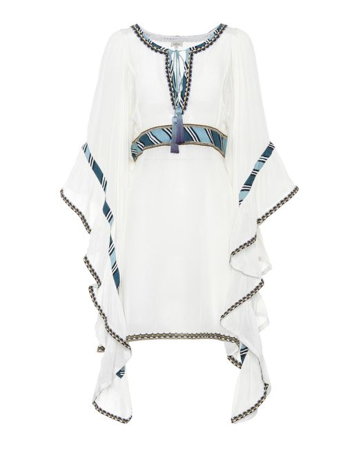 Talitha - White Embroidered Dress - Lyst