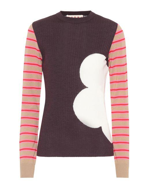 Marni - Multicolor Virgin Wool Sweater - Lyst