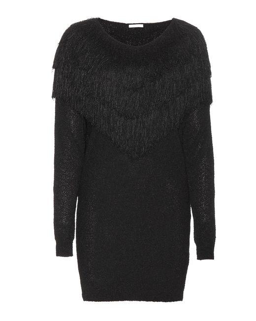 Chloé | Black Stretch Silk-blend Dress | Lyst