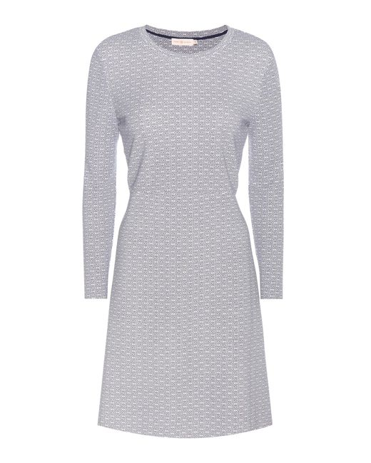 Tory Burch | White Printed Jersey Dress | Lyst