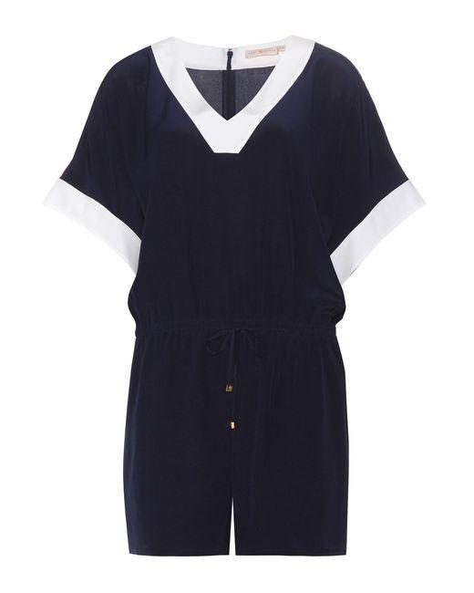 Tory Burch | Blue Lipsi Silk Jumpsuit | Lyst