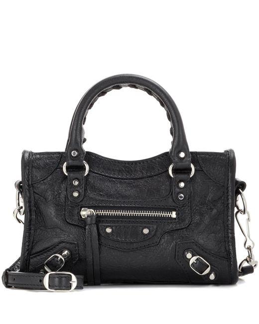 Balenciaga | Black Classic Nano City Shoulder Bag | Lyst