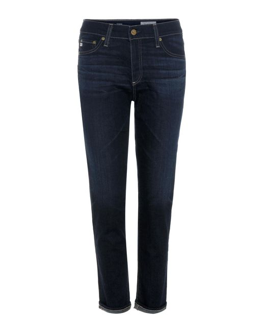 AG Jeans   Blue Beau Skinny Jeans   Lyst