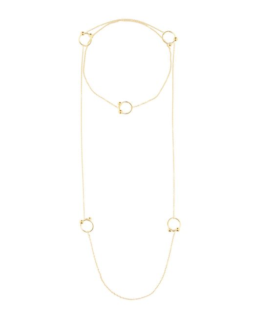 J.W. Anderson | Metallic Long Necklace | Lyst