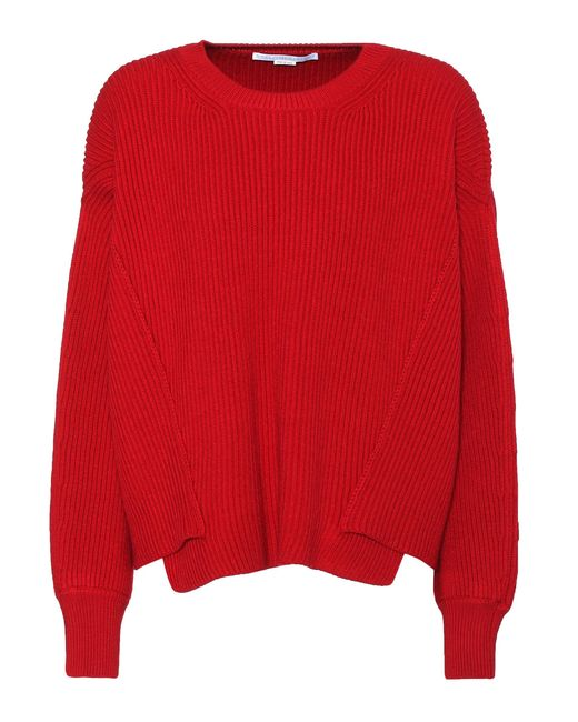Stella McCartney | Red Wool Sweater | Lyst