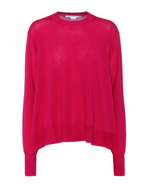 Stella McCartney   Pink Virgin Wool Sweater   Lyst