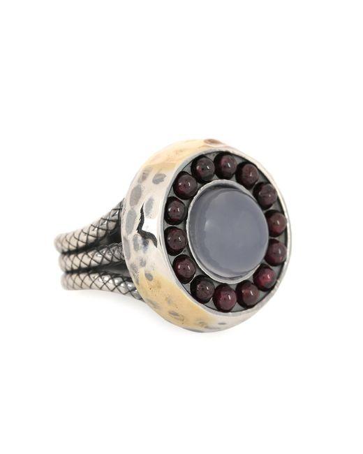 Bottega Veneta | Metallic Sterling Silver Ring | Lyst