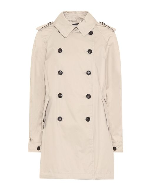 Woolrich - Natural Military Trench Coat - Lyst