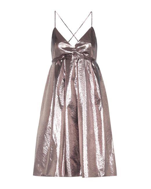 Victoria, Victoria Beckham - Exclusive To Mytheresa. Com – Metallic Dress - Lyst