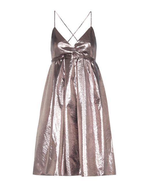 Victoria, Victoria Beckham - Exclusive To Mytheresa.com – Metallic Dress - Lyst
