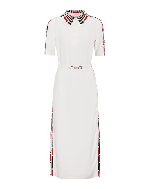 Gabriela Hearst - White Natalia Crêpe Shirt Dress - Lyst