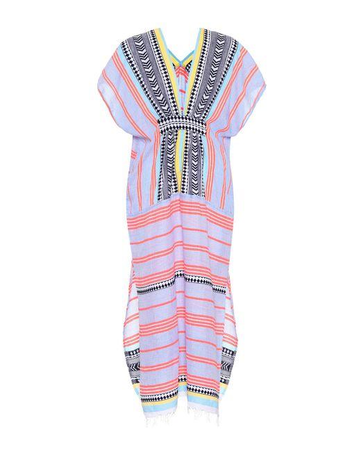 Lemlem - Multicolor Sofia Cotton-blend Kaftan - Lyst