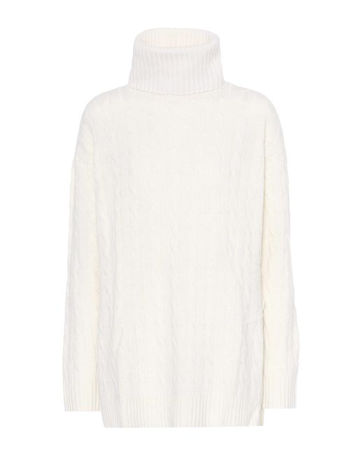 Polo Ralph Lauren - White Wool And Cashmere Sweater - Lyst