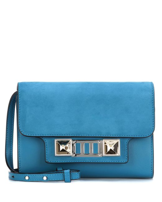 Proenza Schouler | Blue Ps11 Mini Classic Leather Shoulder Bag | Lyst