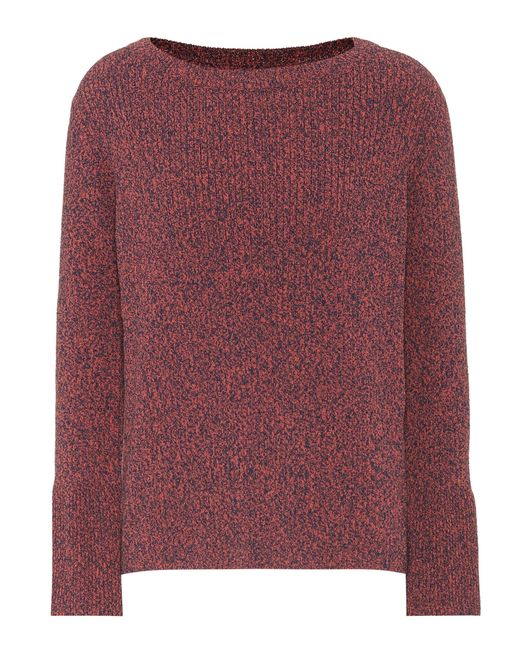 MiH Jeans - Red Cotton-blend Sweater - Lyst