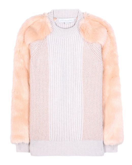 Stella McCartney | Pink Virgin Wool Sweater | Lyst