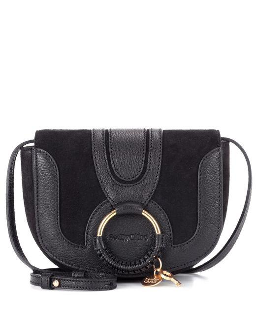 See By Chloé - Black Hana Mini Leather Shoulder Bag - Lyst