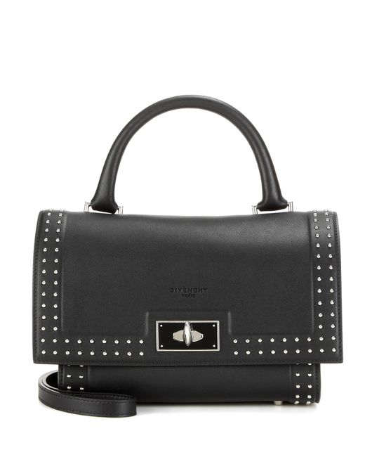 Givenchy   Black Shark Mini Leather Tote   Lyst