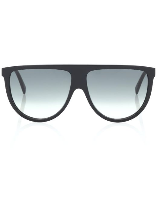 Céline - Black Aviator Sunglasses - Lyst