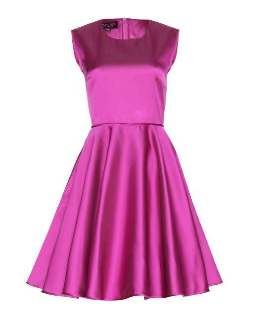 Giambattista Valli - Pink Satin Dress - Lyst