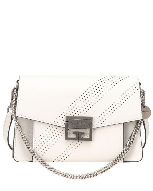 0deee7399e4 Givenchy - White Small Gv3 Leather Shoulder Bag - Lyst ...