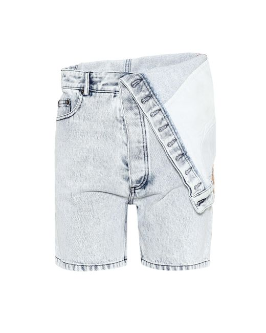 Y. Project - Blue Shorts de jeans - Lyst
