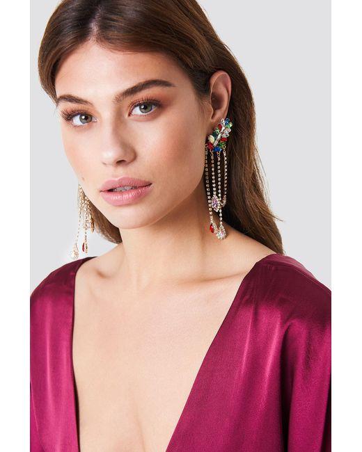 Trendyol - Stone Detail Earrings Multicolor - Lyst