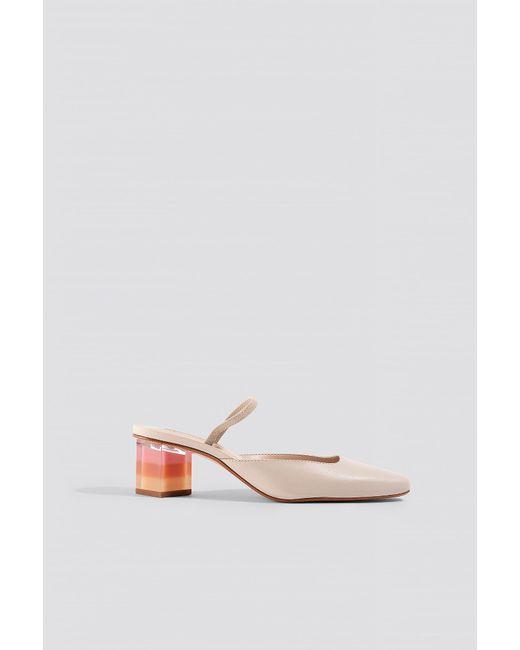 74047f6434 Mango - White Chloe Shoes Beige - Lyst ...