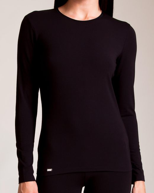 La Perla - Black New Project Long Sleeve Shirt - Lyst