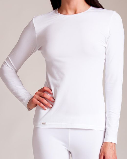 La Perla - White New Project Long Sleeve Shirt - Lyst