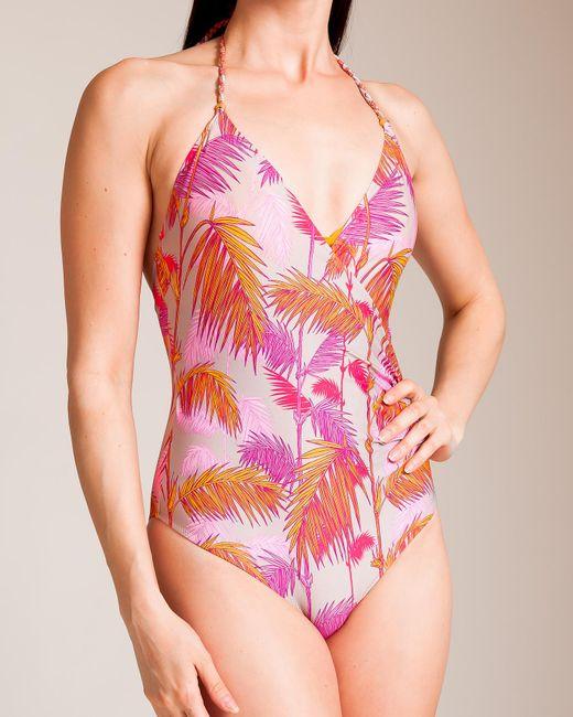 Lazul - Pink Colibri Greta Swimsuit - Lyst