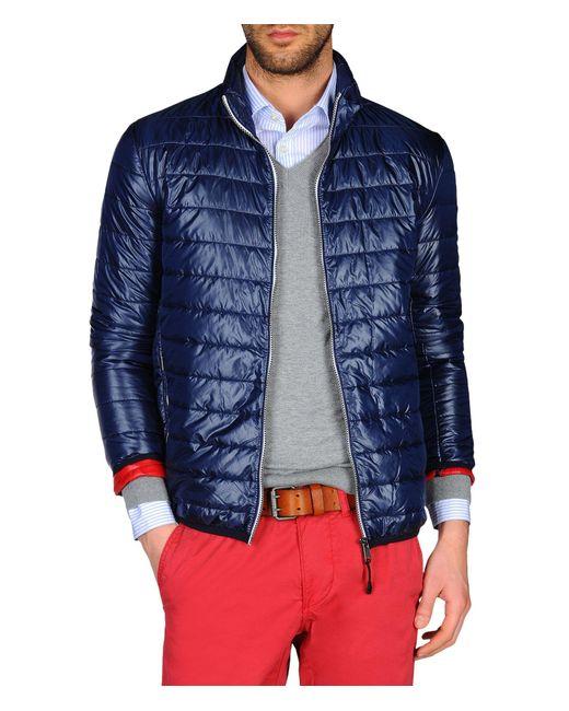 Napapijri | Blue Padded Jacket for Men | Lyst