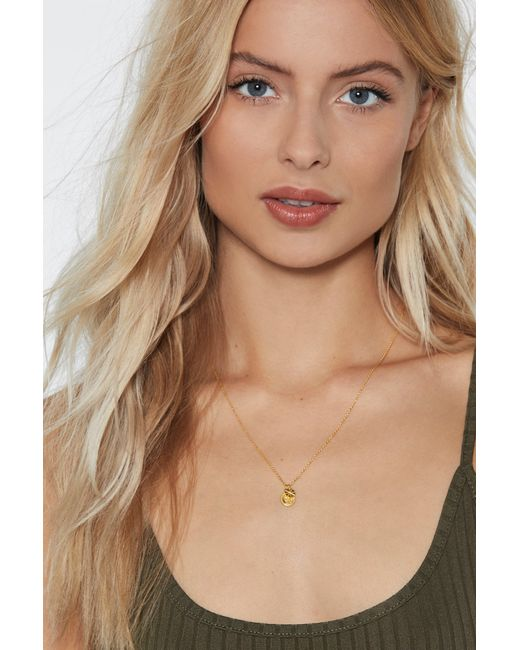 """Nasty Gal - Metallic """"worked Like A Charm Gold Plated Necklace"""" - Lyst"""