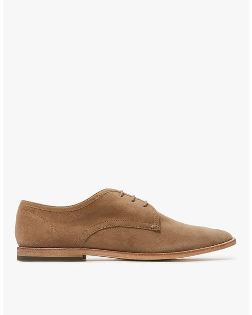 H by Hudson - Natural Hayane In Beige Suede for Men - Lyst