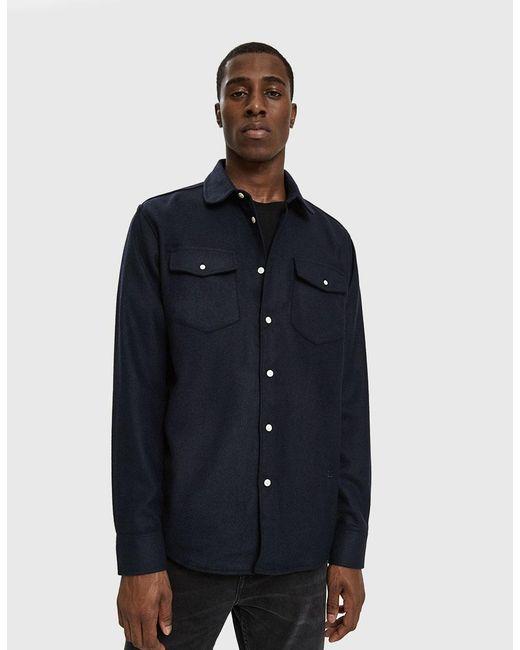 Soulland - Blue Tom Western Shirt for Men - Lyst