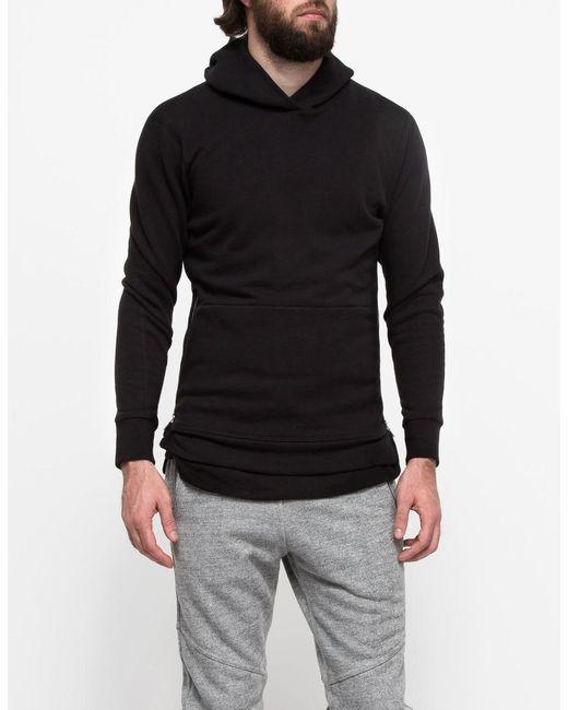 John Elliott - Black Hooded Villain Sweatshirt for Men - Lyst