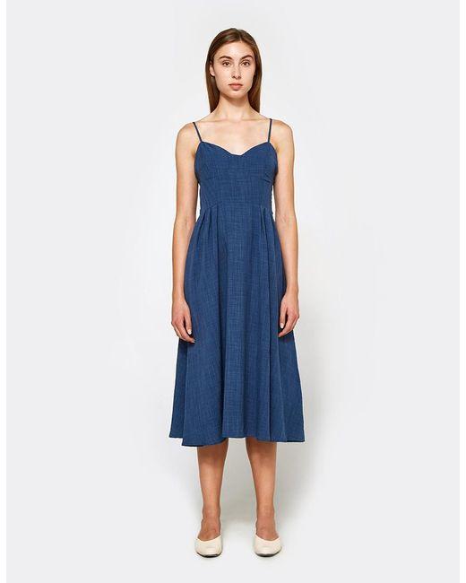 Farrow   Blue Elizabeth Dress   Lyst