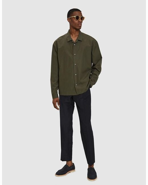 Jil Sander - Piega Shirt In Military Green for Men - Lyst
