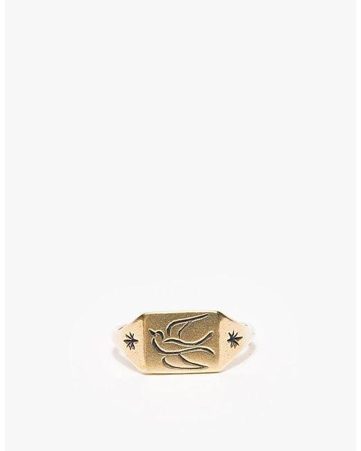 Lhn Jewelry   Metallic Small Swallow Ring for Men   Lyst