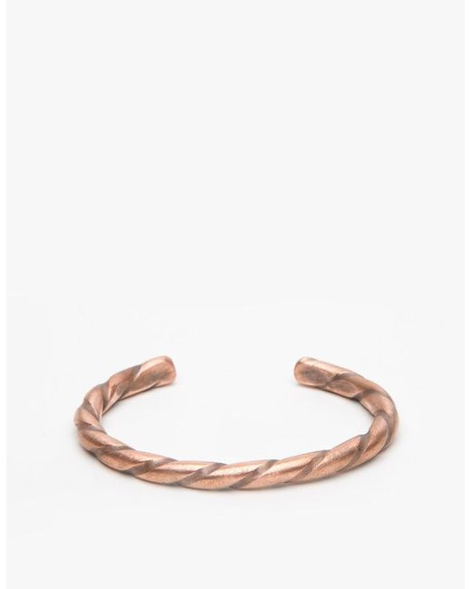 Cause and Effect - Metallic Twisted Copper for Men - Lyst