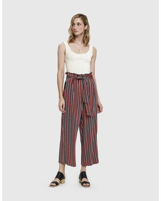 Just Female - Red Fanny Trousers - Lyst