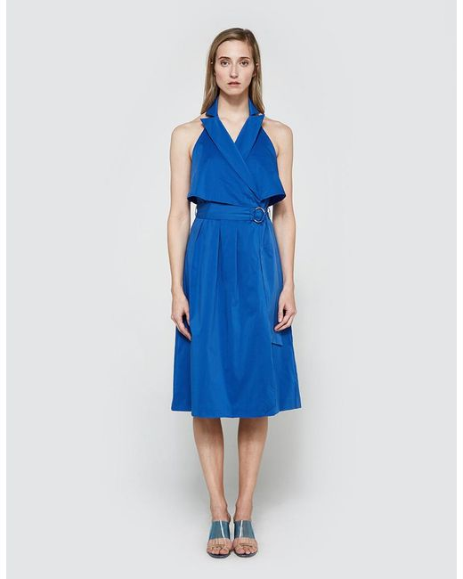 Farrow | Blue Studio Dress | Lyst