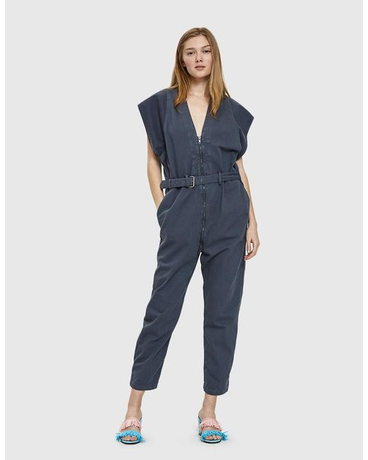 Rachel Comey - Blue Level Chino Twill Jumpsuit - Lyst