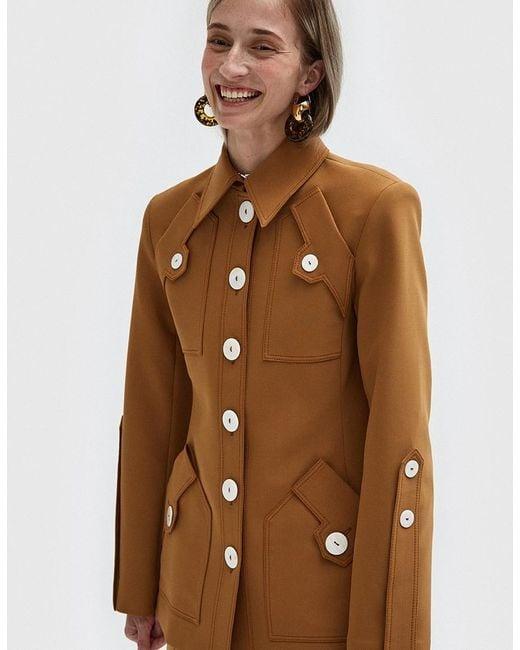 Ellery | Multicolor Starlight Club Patch Pocket Jacket | Lyst