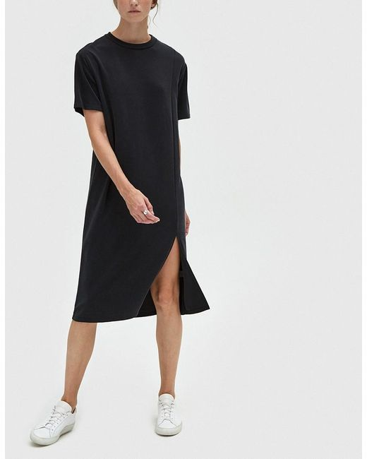 Which We Want | Black Lucia T-shirt Dress | Lyst