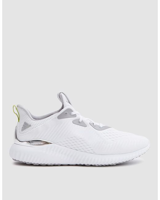 ... On Feet Shots Of Adidas Originals - Alphabounce 1 Kolor In White for  Men - Lyst ... f7252751d